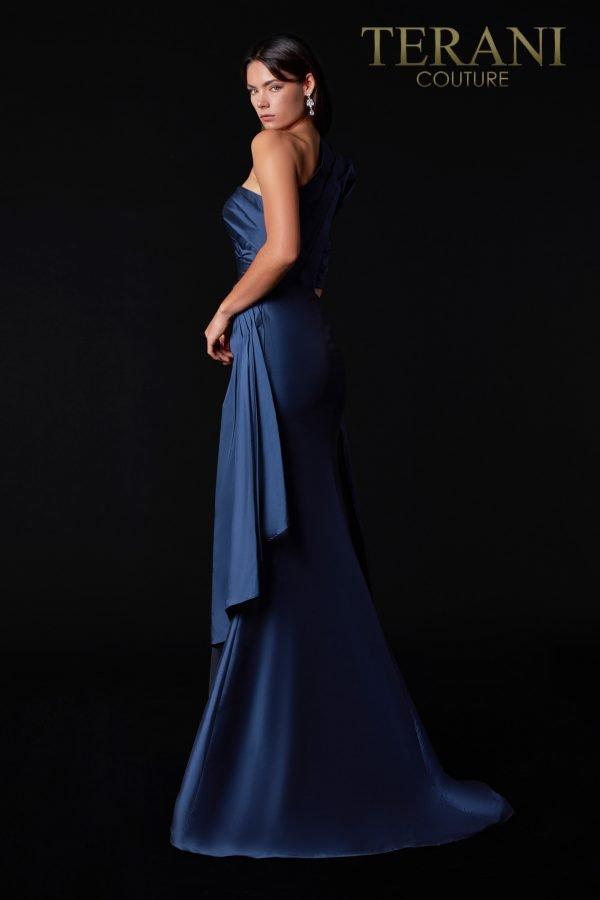 Sophisticated Asymmetric Evening Dress – 2111E4747