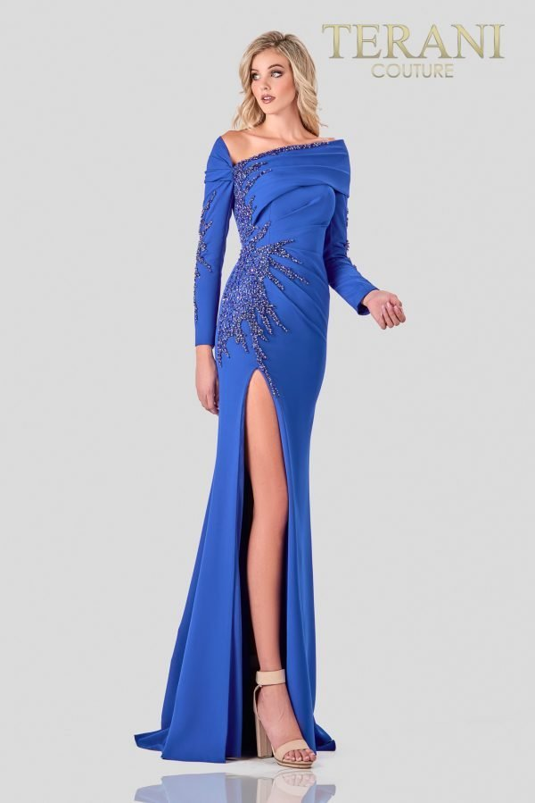 Royally Stylish Mother Of The Bride Dress - 2111M5263