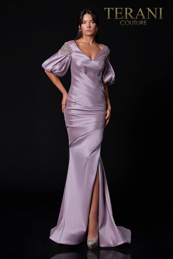 Mikado Rose Mother Of The Bride Dress – 2111M5293