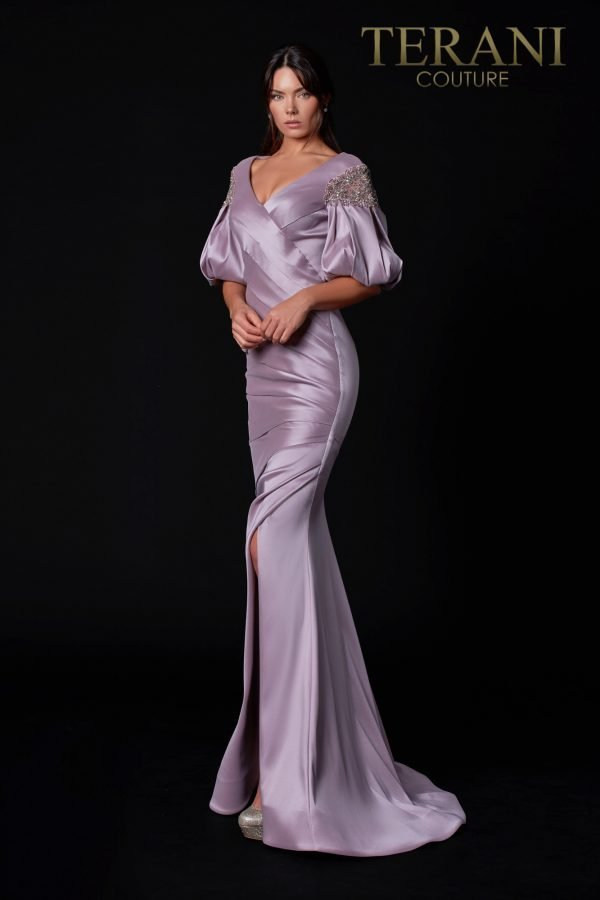 Mikado Rose Mother Of The Bride Dress - 2111M5293