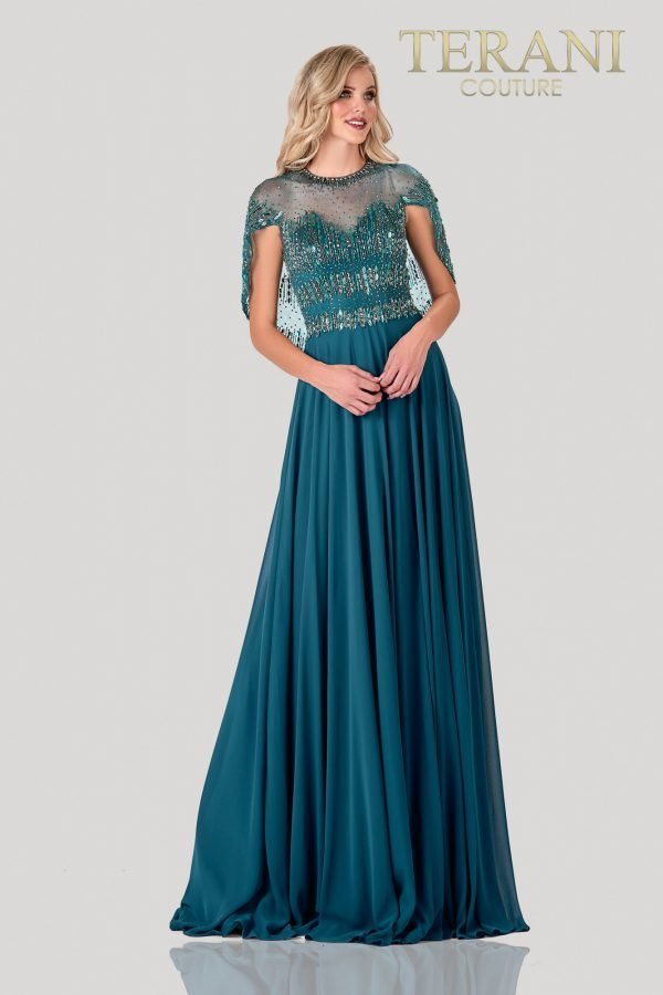 Bead Embellished Mother Of The Bride Dress – 2111M5295