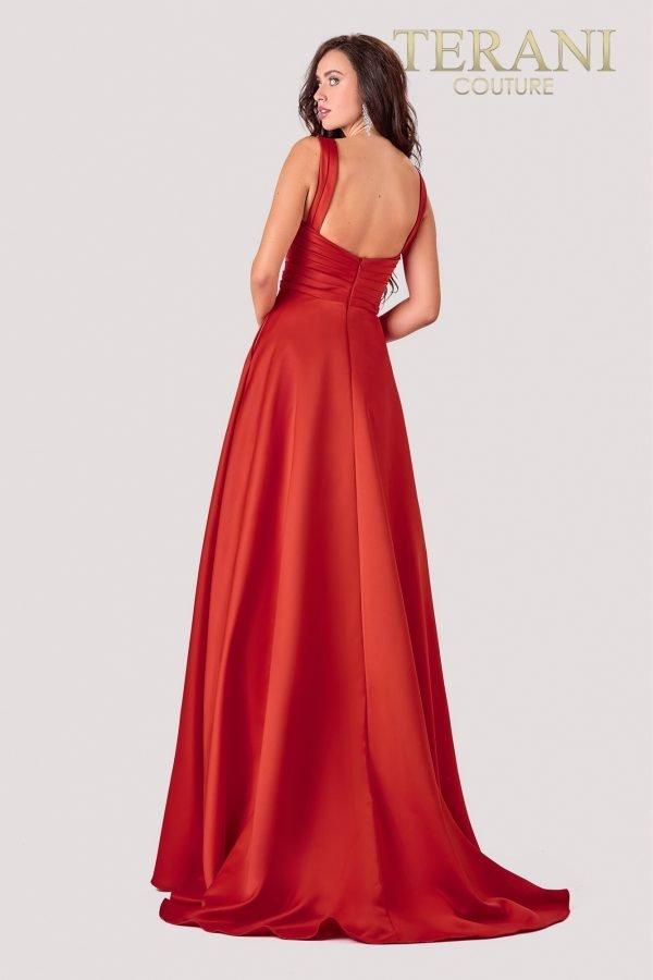 Bold & Beautiful Red Prom Dress – 2111P4100
