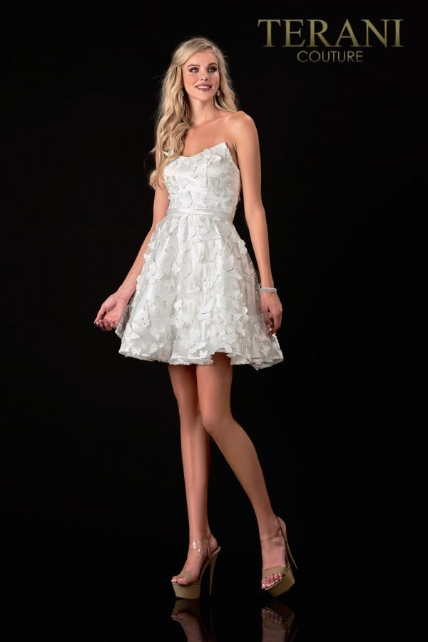 Classic Fit 'N Flair Ivroy Prom Dress – 2111P4246