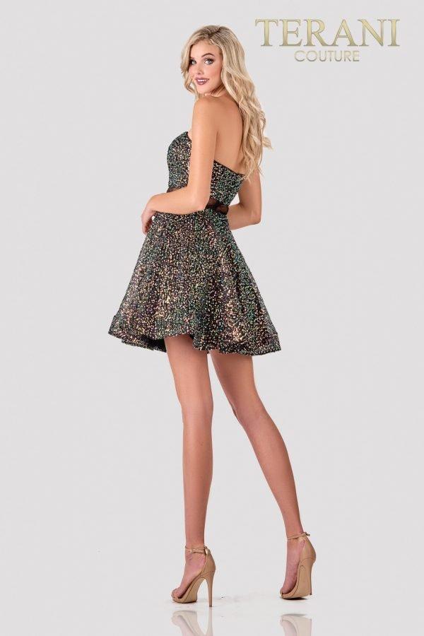 Cute Black Multi Prom Dress – 2111P4247